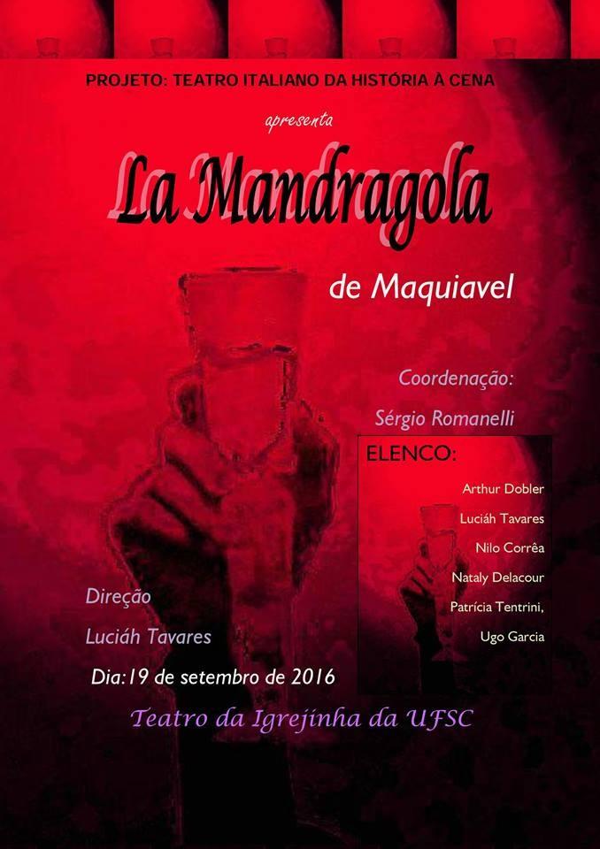 "Espetáculo ""La Mandragola"" de Maquiavel"