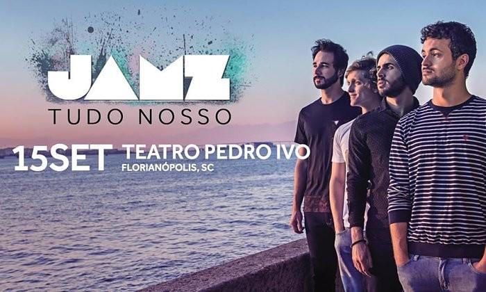 """Banda Jamz faz show de lançamento do seu novo disco """"Tudo Nosso"""""""