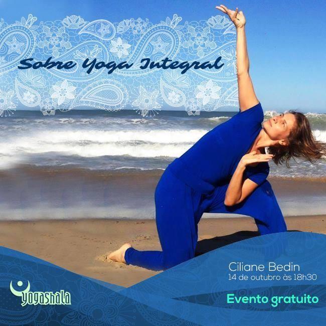 Aulão gratuito de Yoga Integral no Yogashala Centro de Yoga