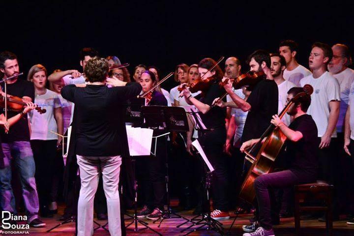 Sarau de Primavera com talentos musicais da Orquestra, do Madrigal e do Coral da UFSC