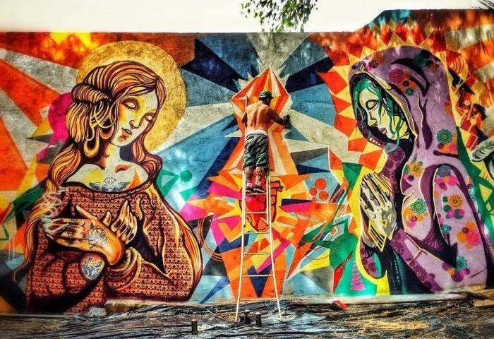Palestra gratuita sobre arte que marca a cidade com o graffitero e tatuador Driin