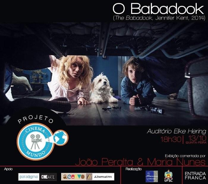"Projeto Cinema Mundo exibe filme ""O Babadook"" (2014) de Jennifer Kent"