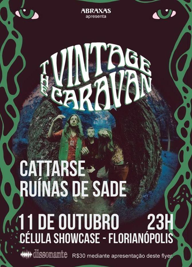 Abraxas Fest 2016 apresenta show do trio islandês The Vintage Caravan