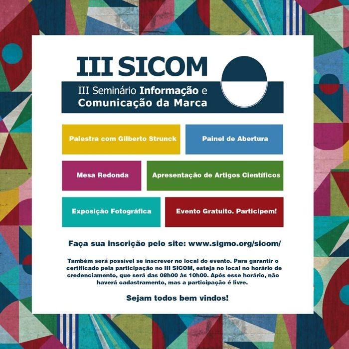 III SICOM - Seminário Informação e Comunicação da Marca