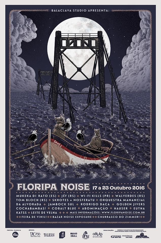 9º Festival Floripa Noise terá semana intensa de cinema, shows, feiras, bazar e performances