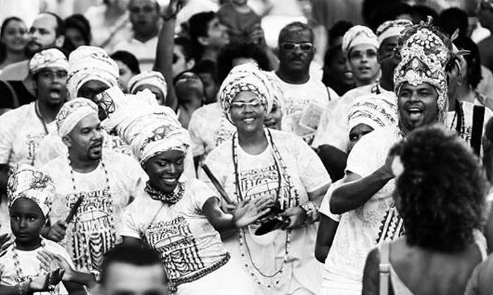 Afoxé Omo Nilê Ogunjá em Floripa com Oficina, Festa e Niver Charles