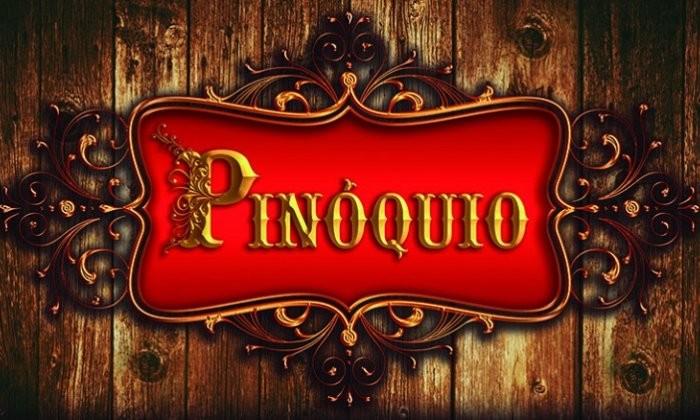 """Espetáculo """"Pinóquio - As Aventuras de uma Marionete"""""""