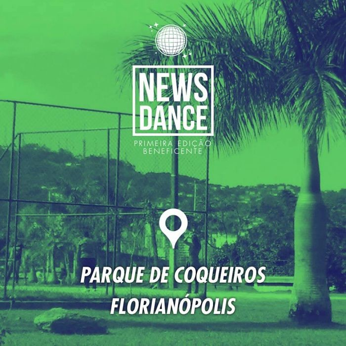 1º News Dance Beneficente - super aulão de dança gratuito ao ar livre no Parque de Coqueiros