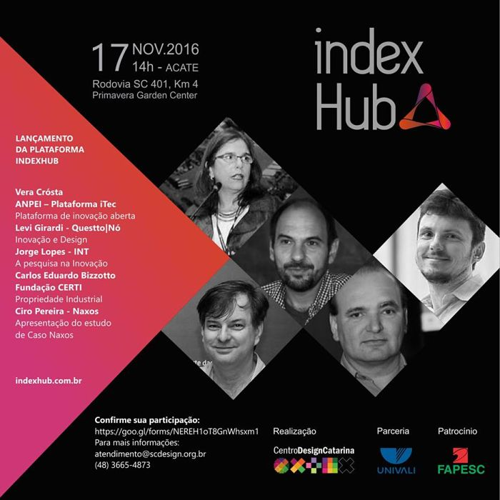 Lançamento da plataforma INDEXHUB e da 1ª Design Business Fair