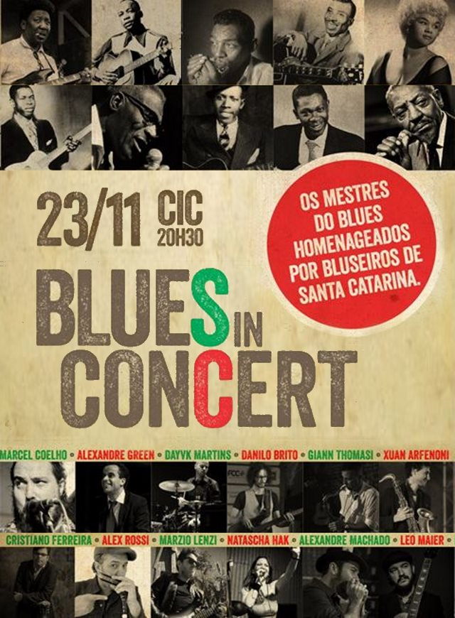 Show Blues in Concert no palco do CIC 8:30 - Grandes Encontros