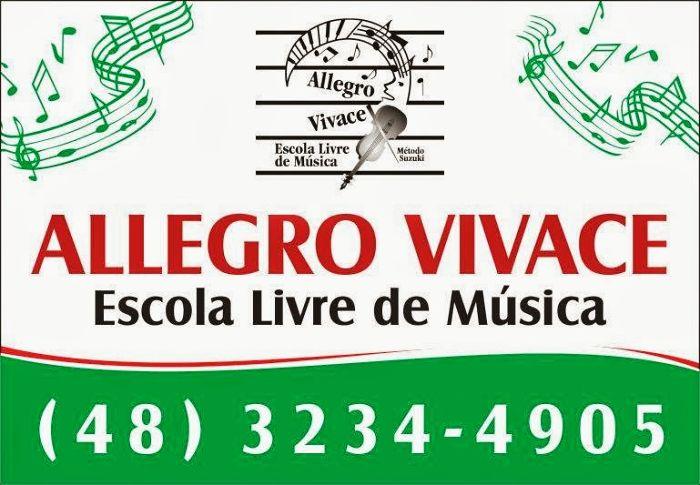 Audição de encerramento do 1º semestre da Escola de Música Allegro Vivace