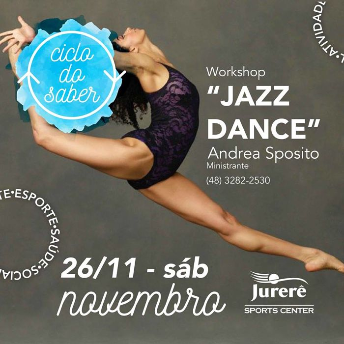 Workshop de Jazz Dance Infanto-Juvenil