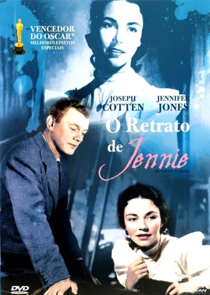 "Cineclube Badesc exibe ""O Retrato de Jennie"" (Portrait of Jennie, 1948) de William Dieterle"