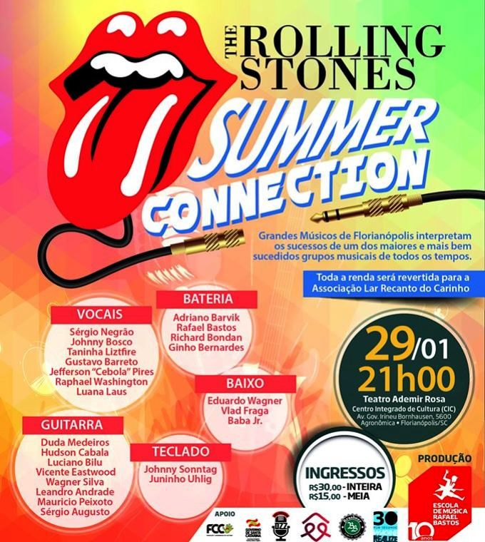 "Show beneficente ""The Rolling Stones Summer Connection"""