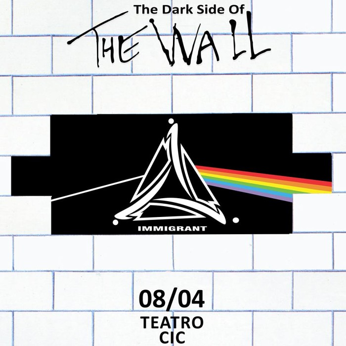 "Pink Floyd by Immigrant ""The Dark Side Of The Wall"""