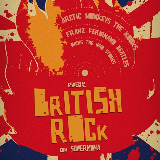 Especial British Rock com Supernova