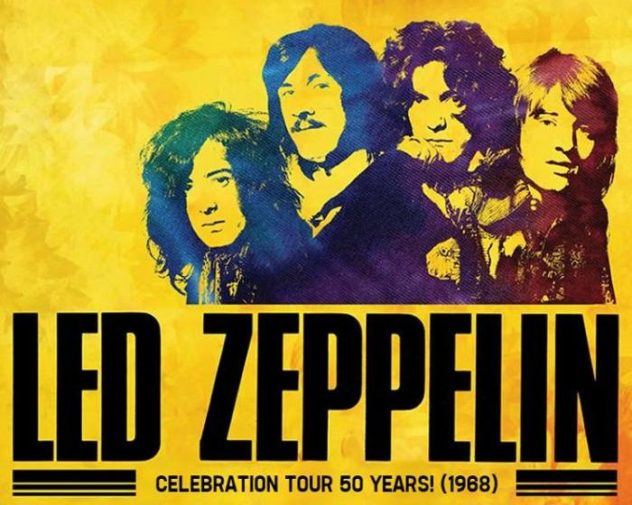 Led Zeppelin In Concert - Especial 50 Anos