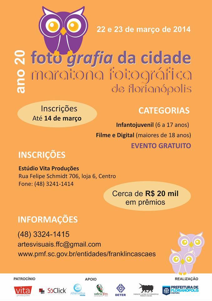 Concurso fotográfico Foto Grafia da Cidade - 20ª Maratona Fotográfica