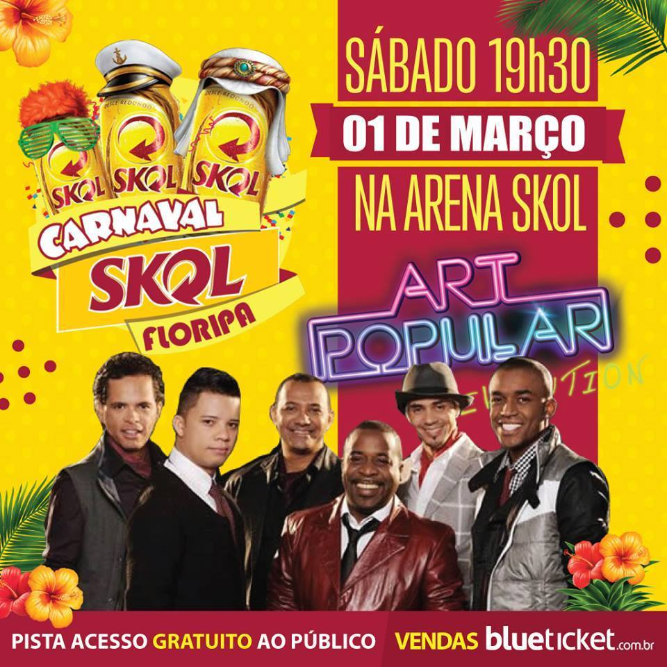 Art Popular no Carnaval Skol 2014