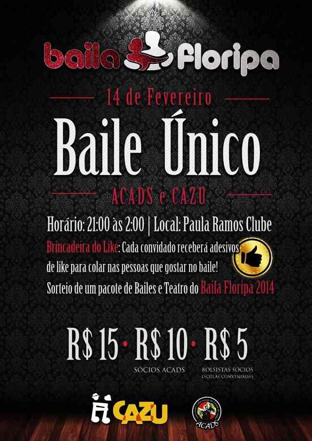 Baile Único de divulgação da XIII Mostra de Dança de Salão de Florianópolis – Baila Floripa
